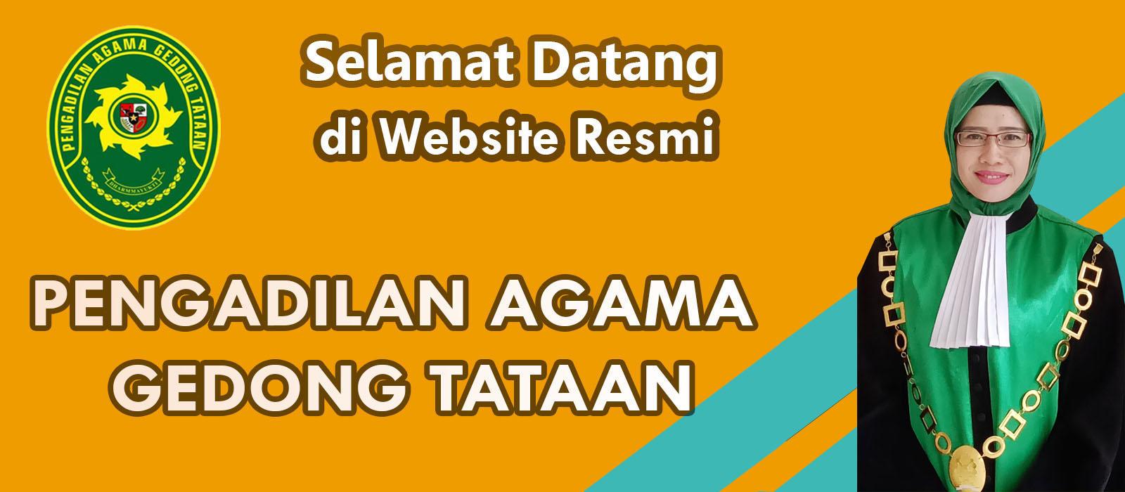 Selamat datang di situs resmi Pengadilan Agama Gedong Tataan